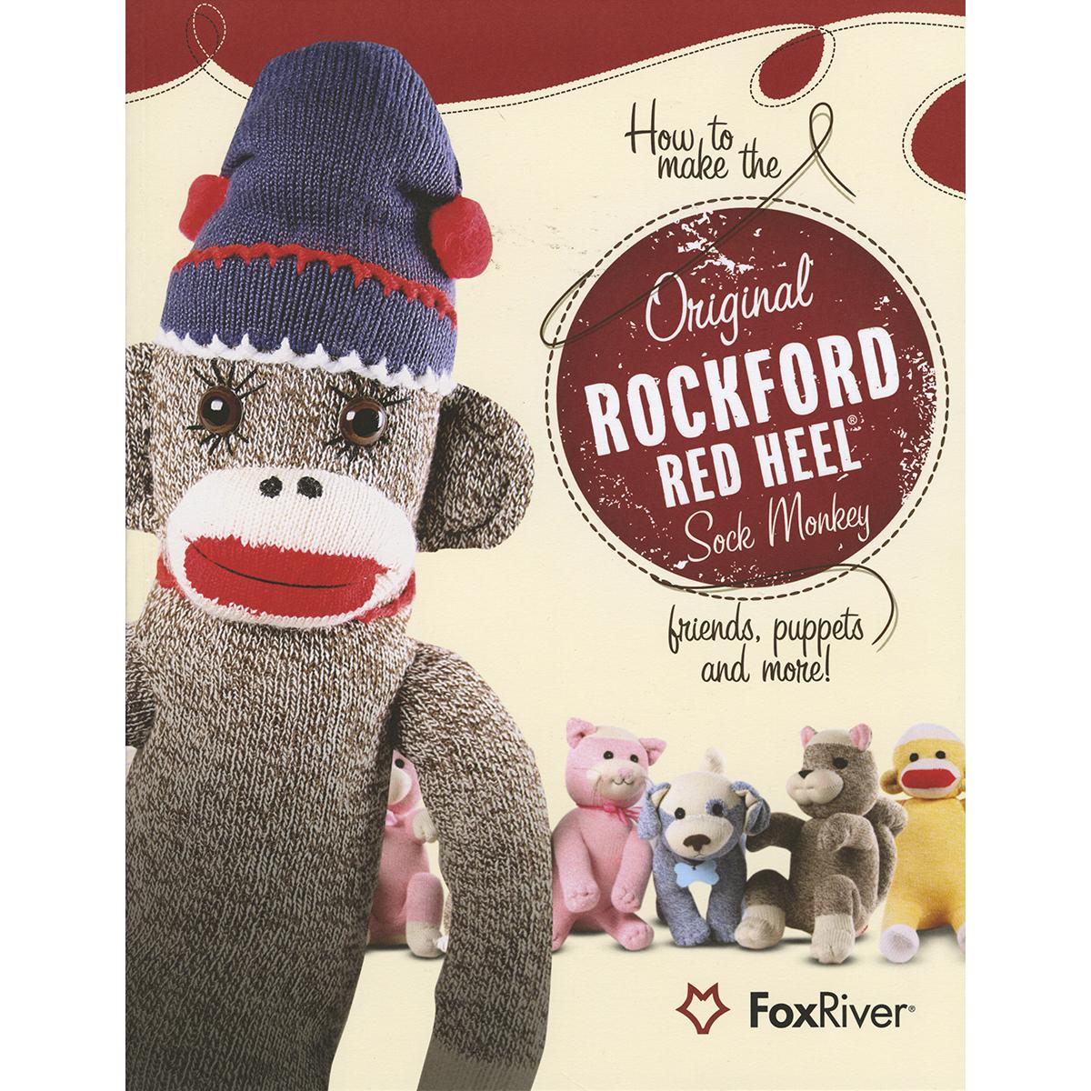 How to Make the Original Rockford Red Heel Sock Monkey