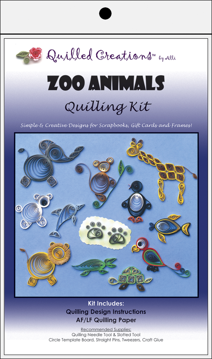 Quilling Kit Zoo