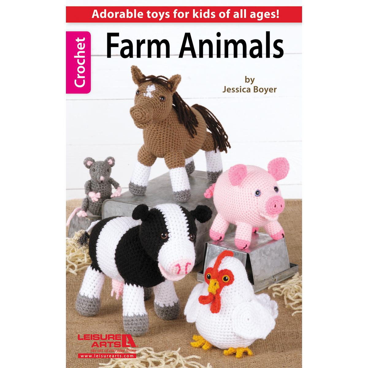 Leisure Arts-Farm Animals