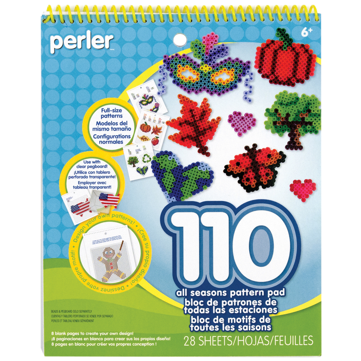 Perler Pattern Pad-All Seasons