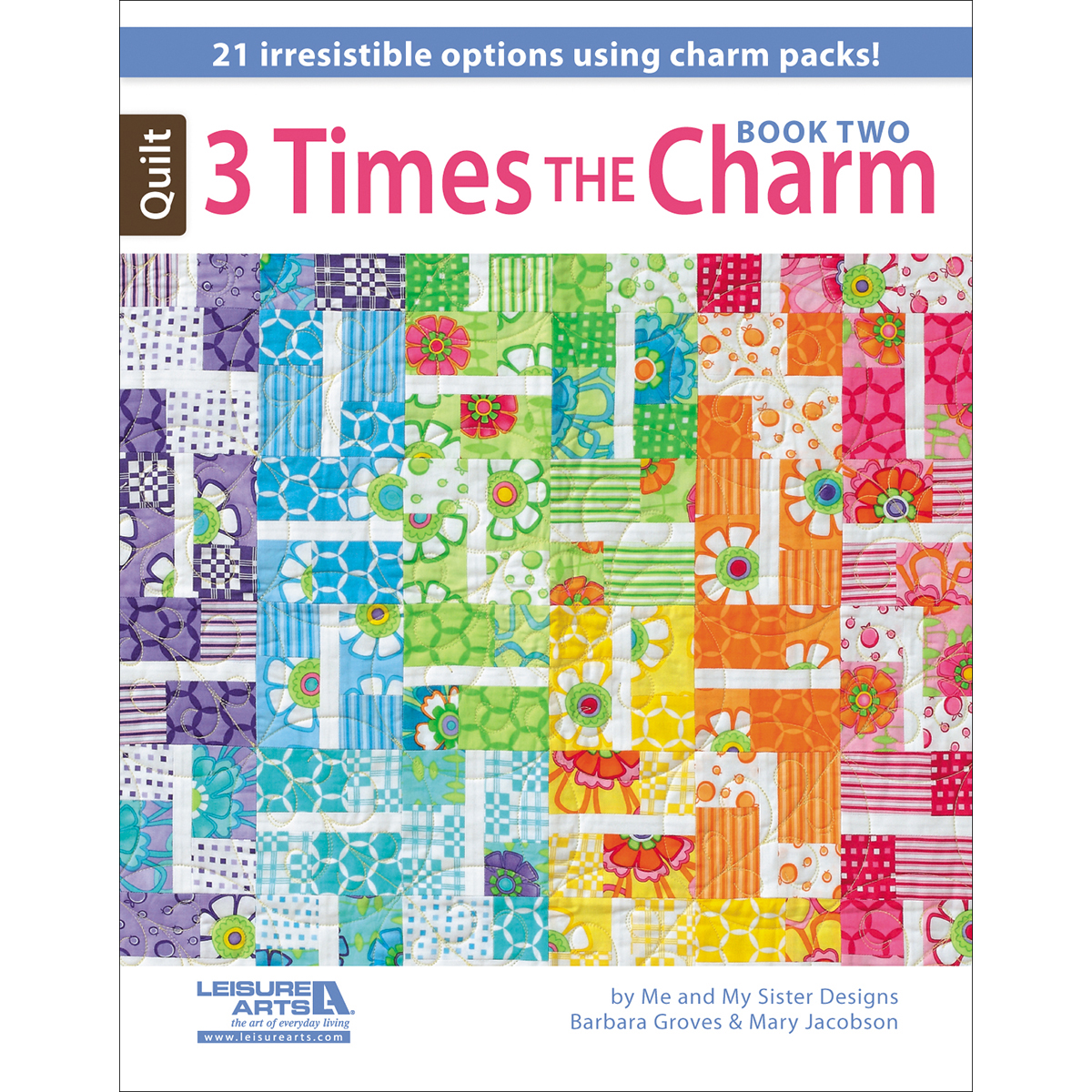 Leisure Arts-3 Times The Charm Book Two