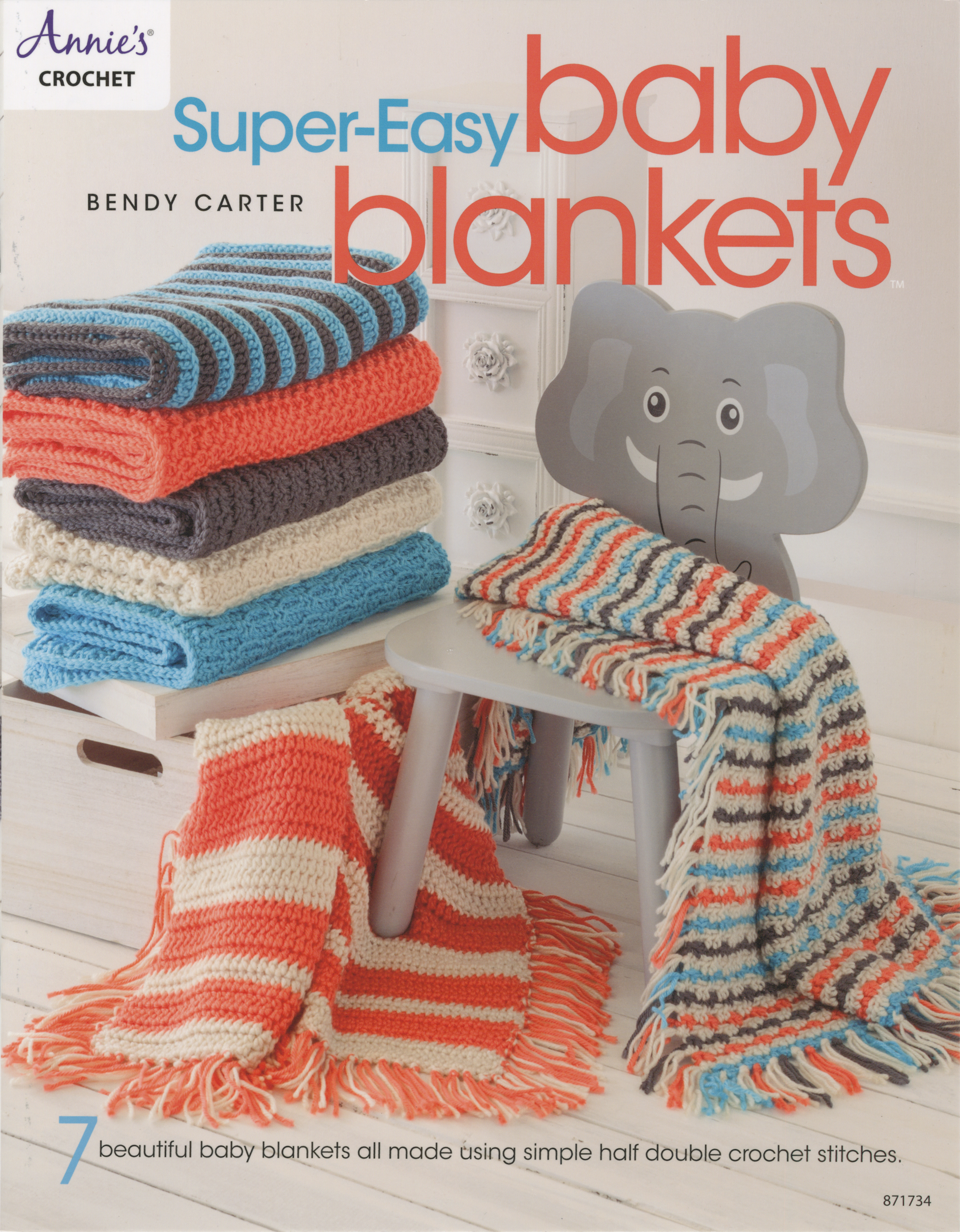 Annie's Books-Super-Easy Baby Blankets