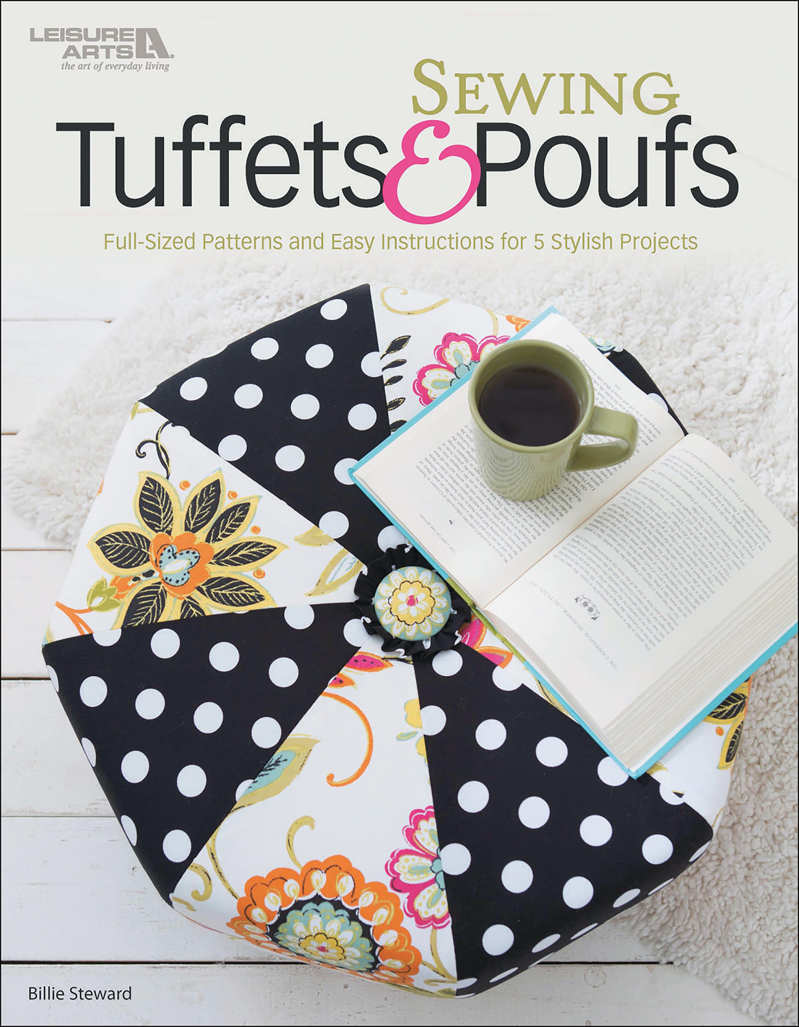 Leisure Arts-Sewing Tuffets & Poufs