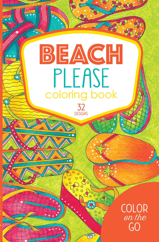 Leisure Arts-Beach Please Coloring Book