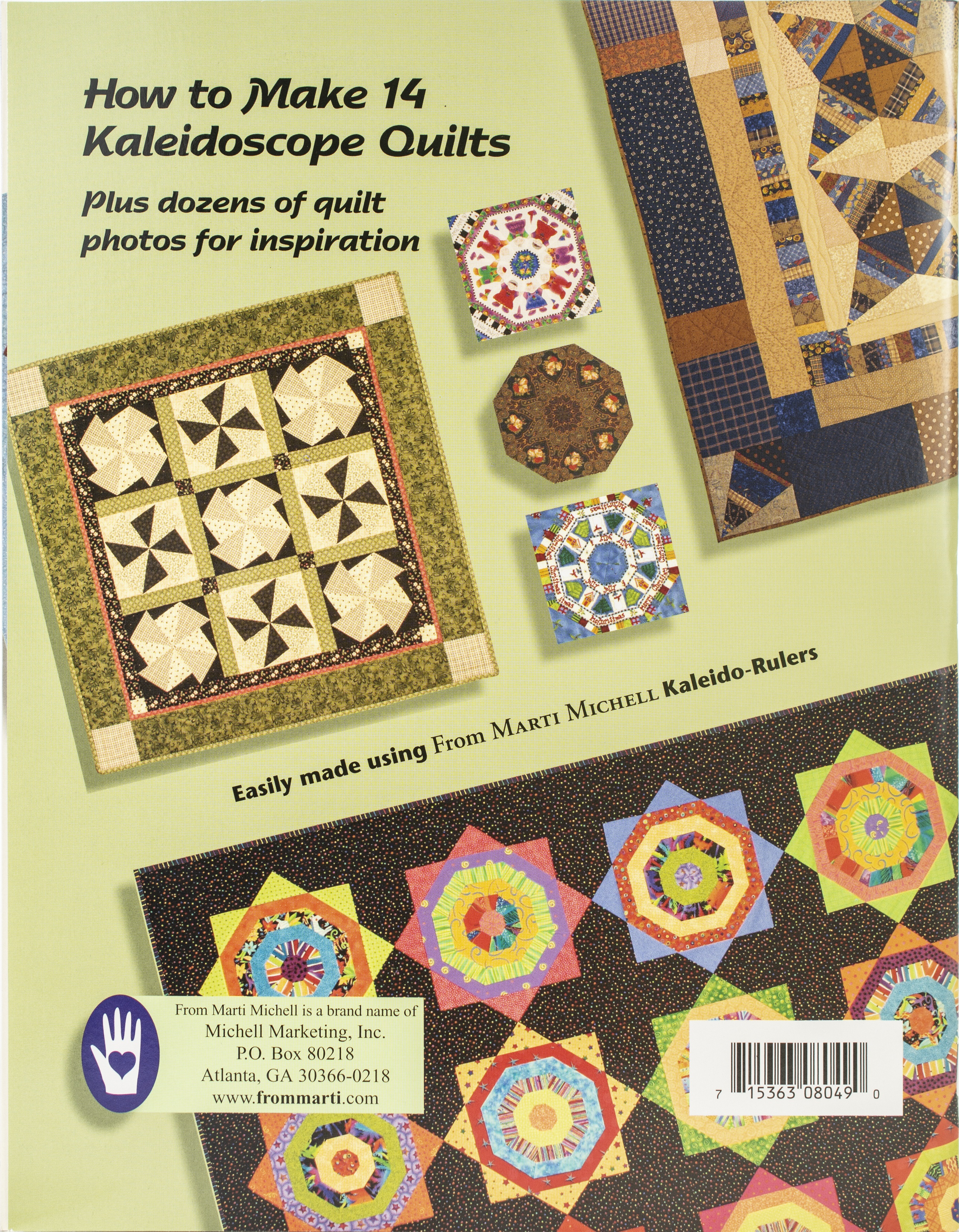 Kaleidoscope ABCs Book By Marti Michell-