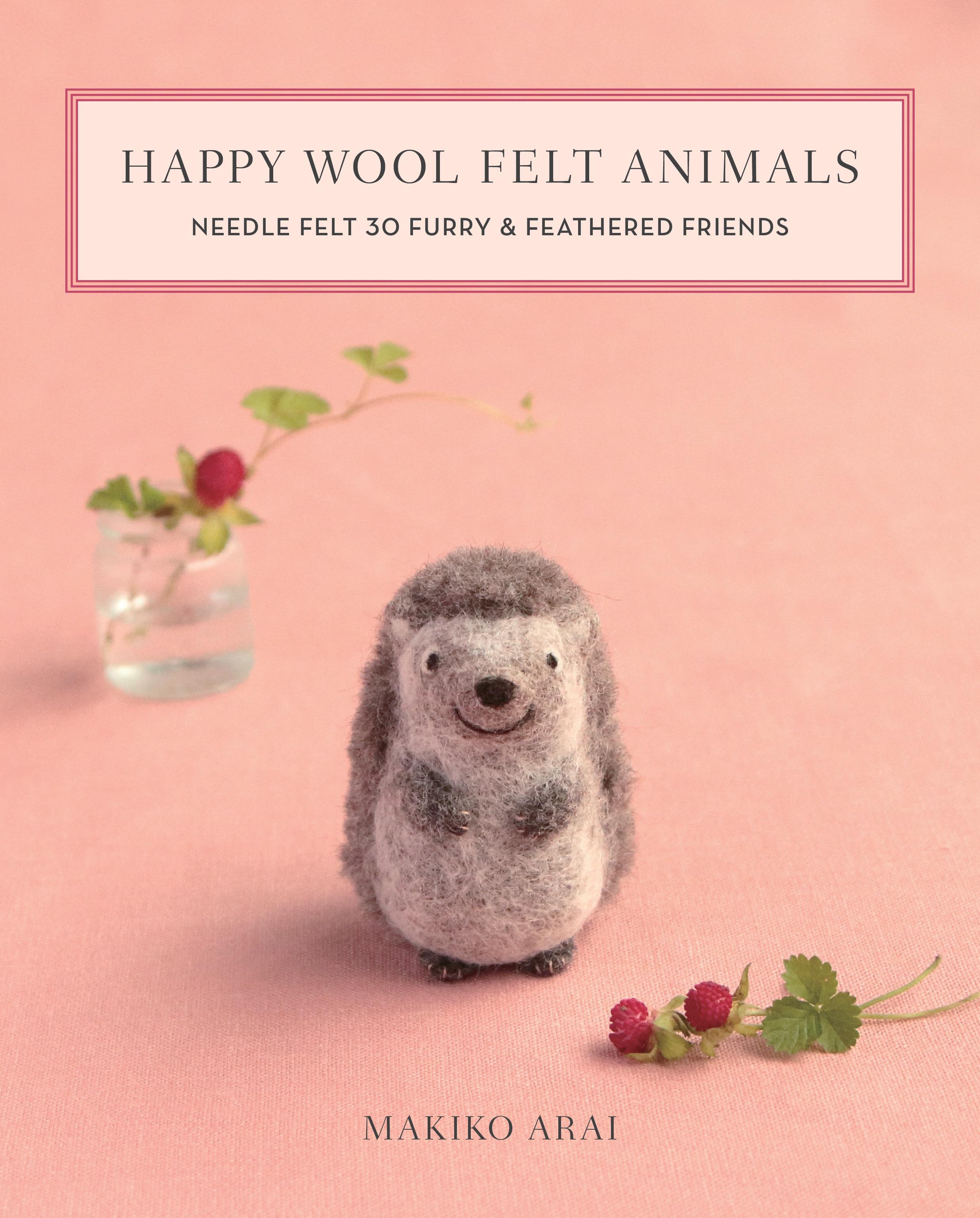 Happy Wool Felt Animals