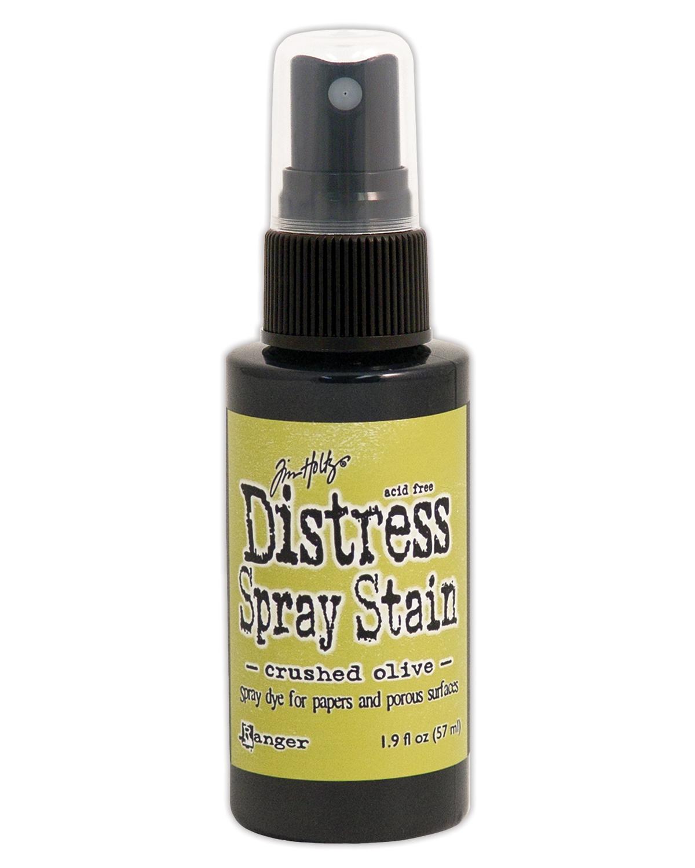 Tim Holtz Distress Spray Stain 1.9oz-Crushed Olive