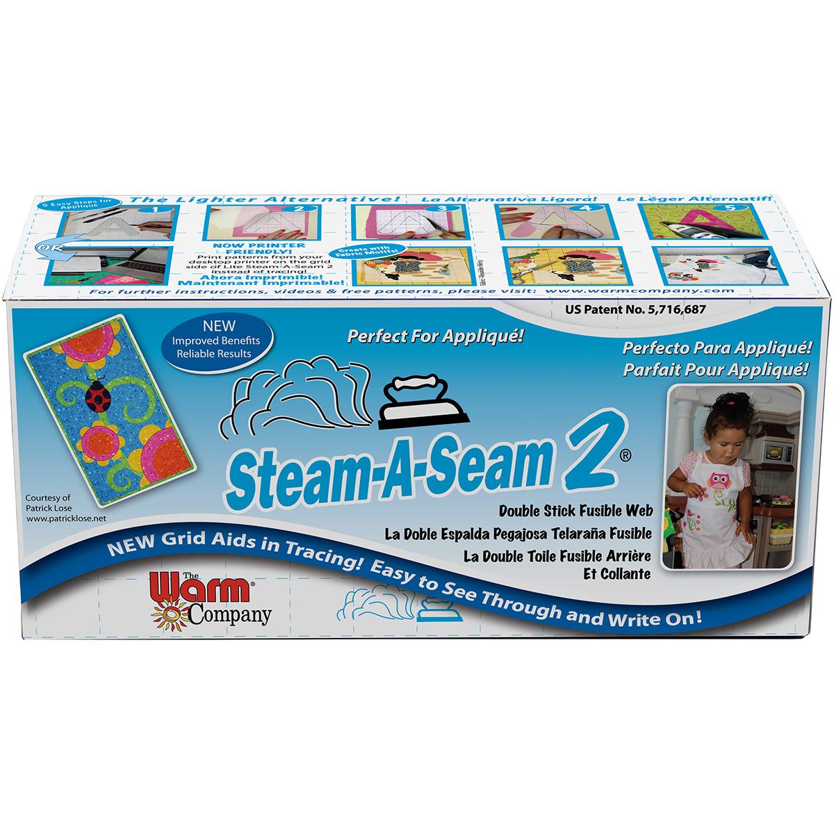 Steam-A-Seam 2 Fusible Web-12X40yd FOB: MI