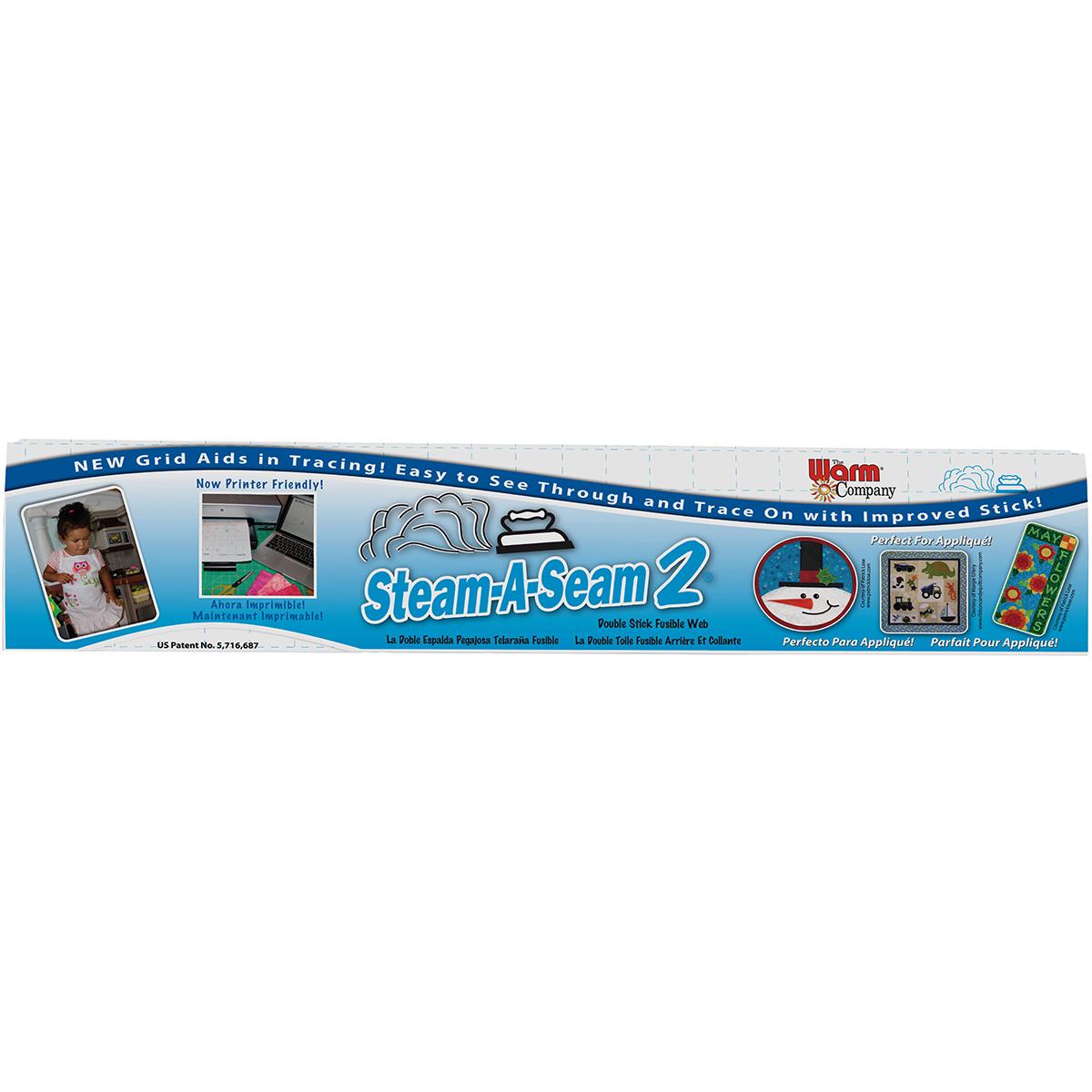 Warm Company Steam-A-Seam 2 Fusible Web-24X25yd FOB: MI