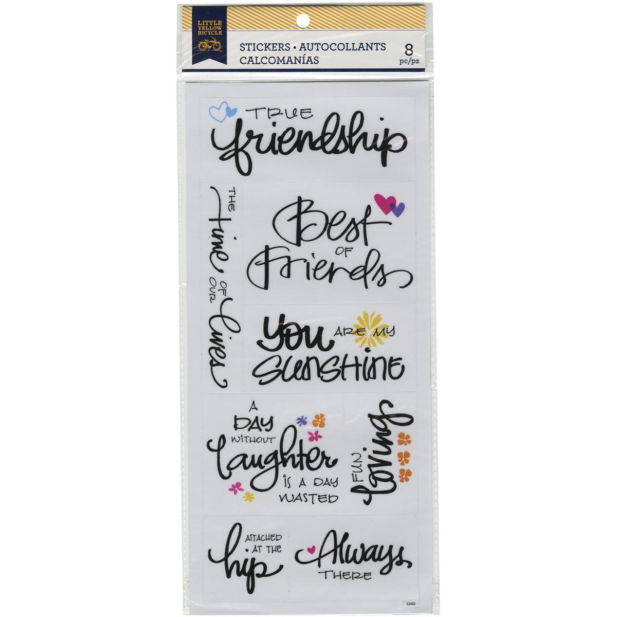 LYB Stickers Friendship