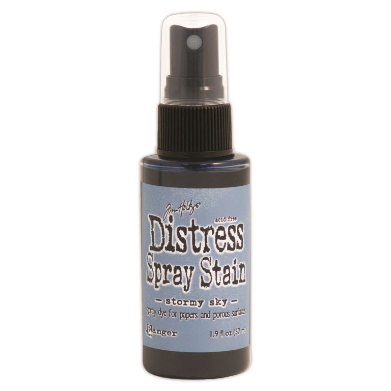 Tim Holtz Distress Spray Stain 1.9oz-Stormy Sky