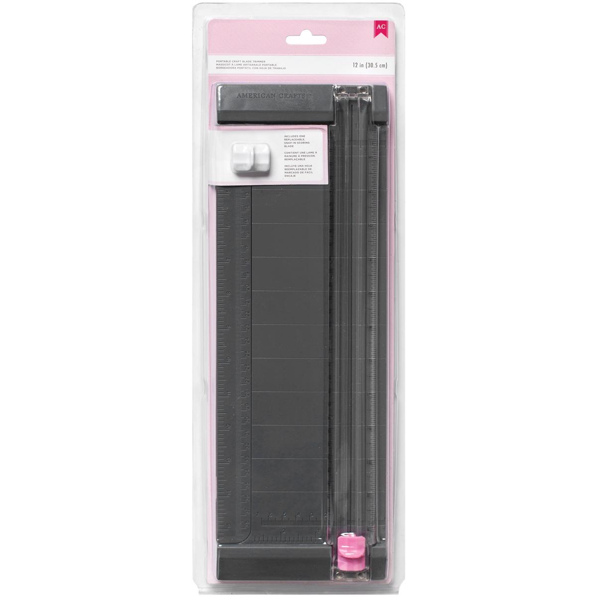 Pink Craft Blade Trimmer 12-
