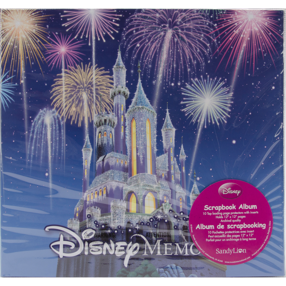 Disney Post Bound Album 12X12-Memories