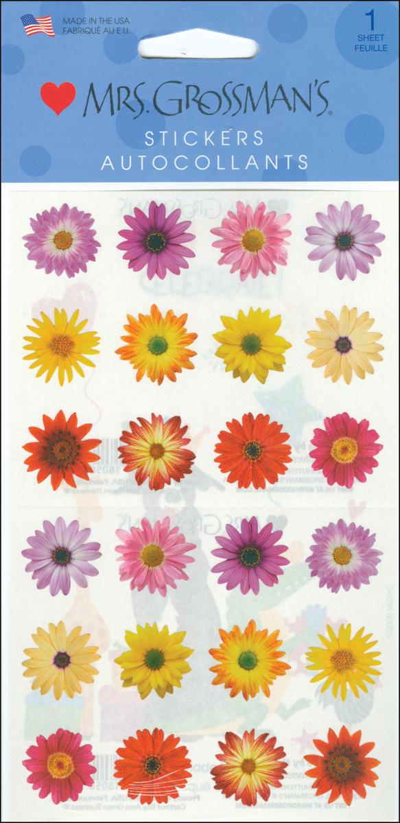 MRS GROSSMAN'S STICKRS -FLOWERS BY THE DOZEN