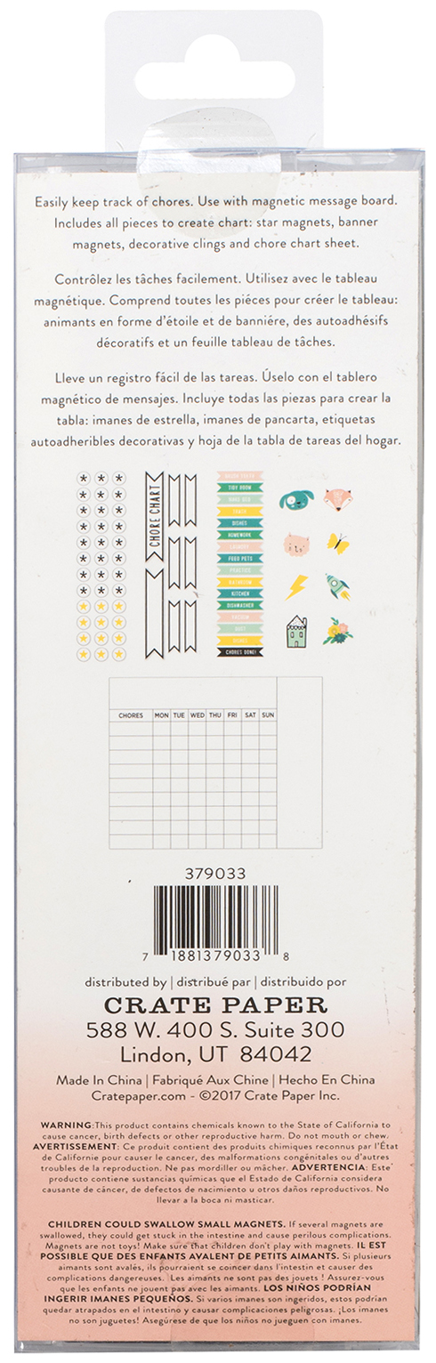Maggie Holmes Magnet Studio Magnet Kit 70/Pkg-Kids' Chore Chart