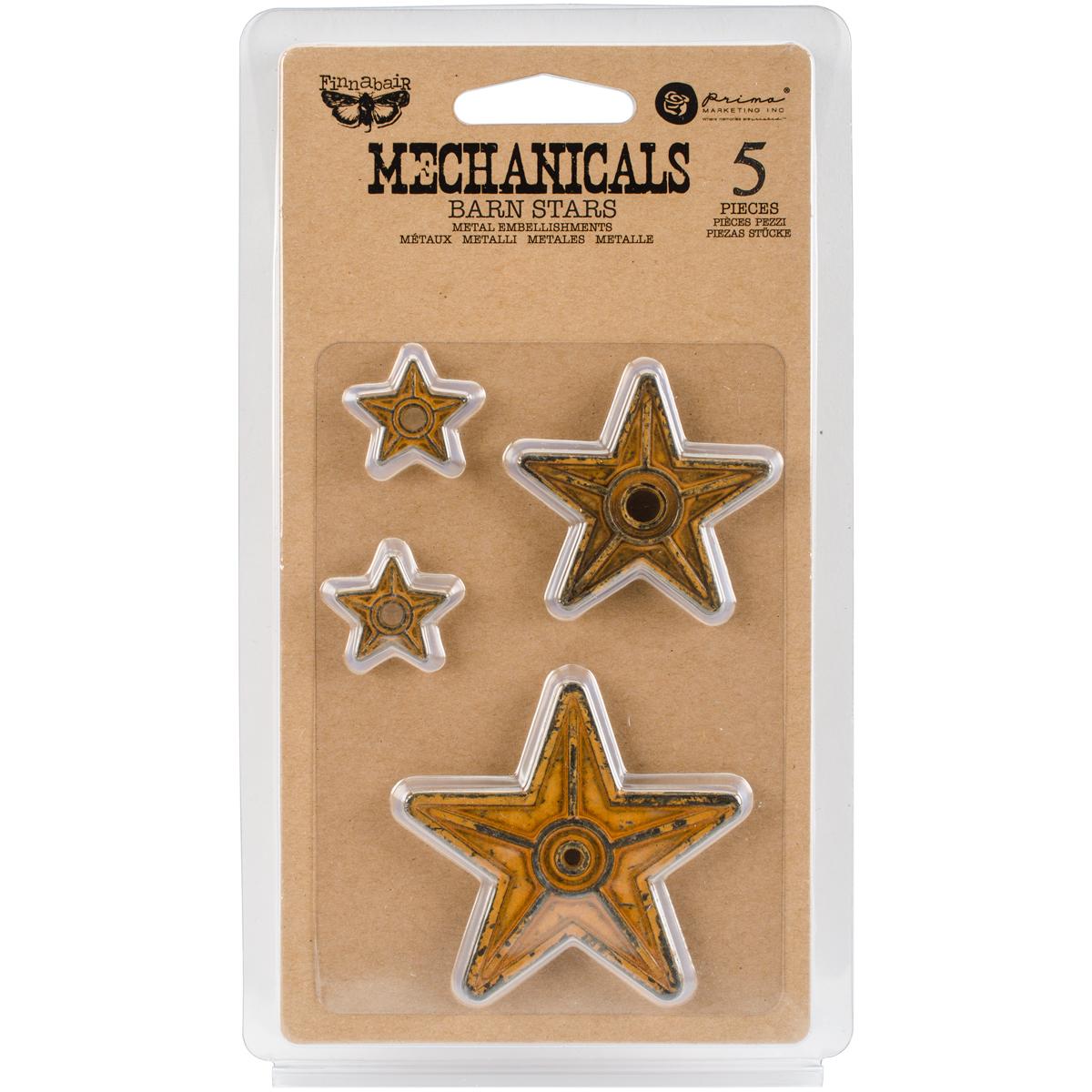 BARN STARS-MECHANICALS EMBLSHMT