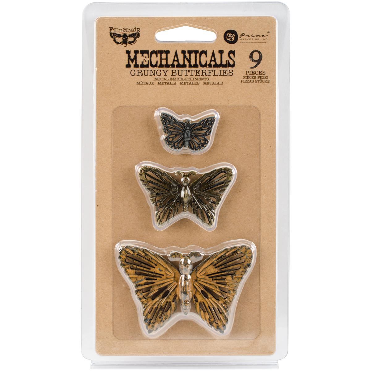 Mechanicals - Grungy Butterfly