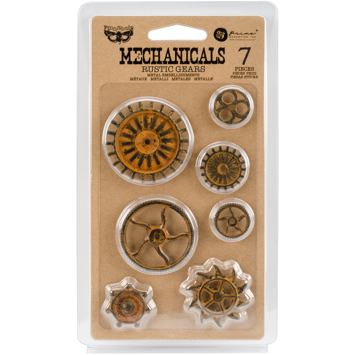 Finnabair Mechanicals Rusty Gears
