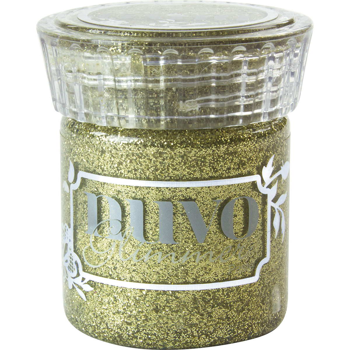 Nuvo Glimmer Paste 1.6oz-Golden Crystal