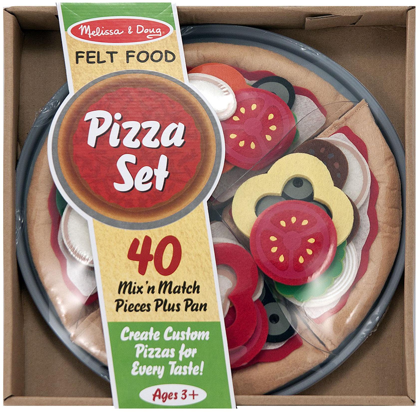Felt Food Set-Pizza