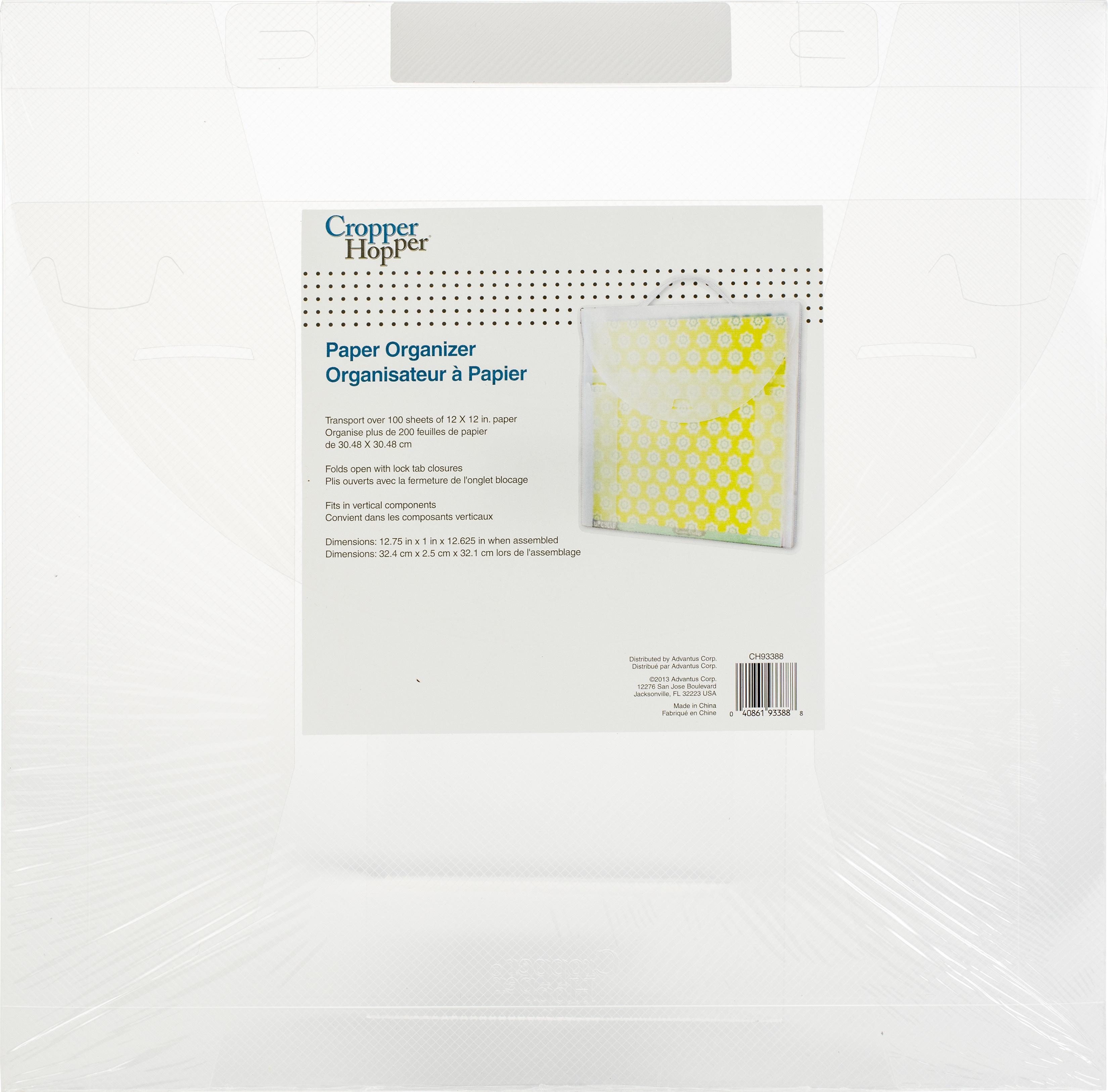 Cropper Hopper Paper Organizer-12X12