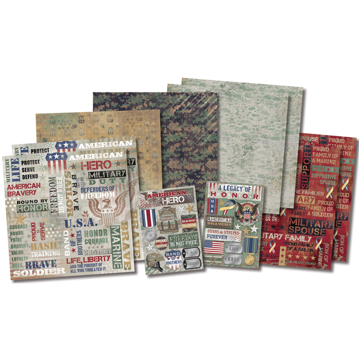 Karen Foster-Military Life Collection Kit