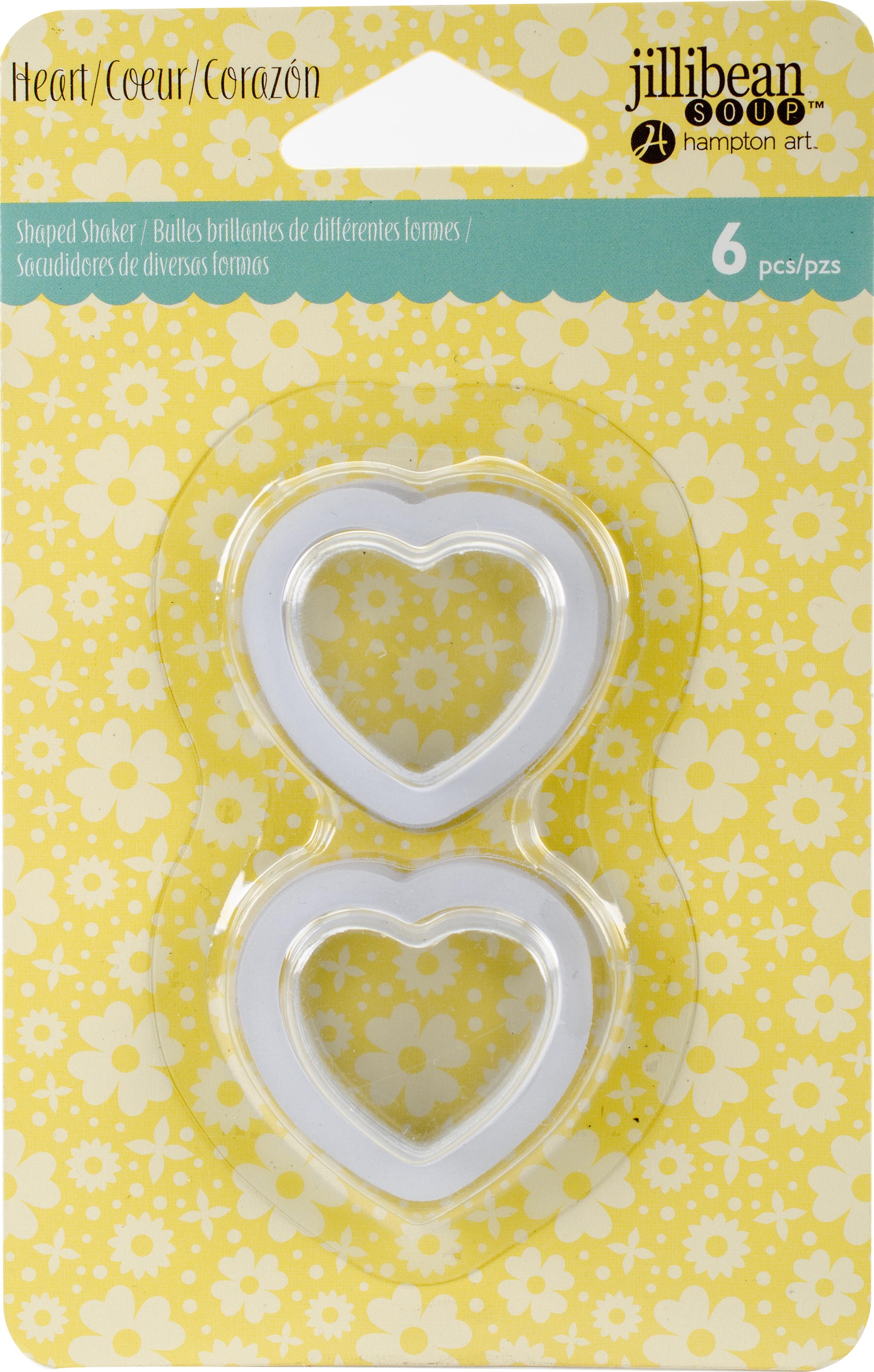 JB1368 Shaker Shape Hearts