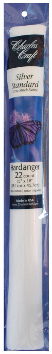 22ct Aida Hardanger 15x18 White