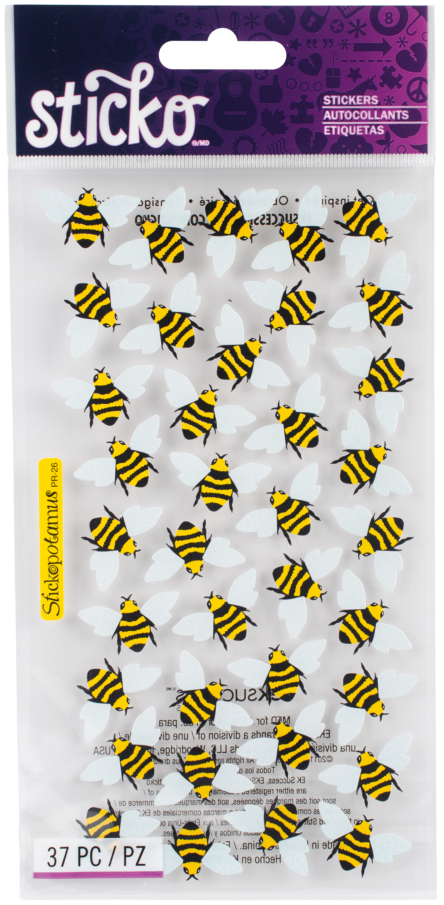 Bees -Sticko Classic Stckr