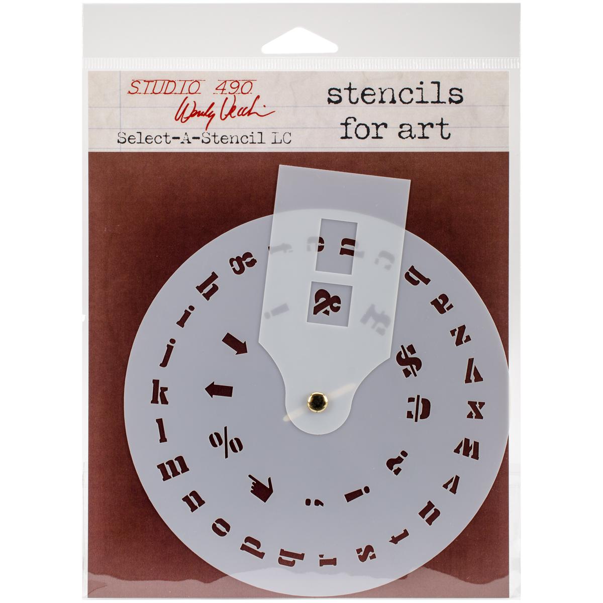 Wendy Vecch Select-a-stencil LC