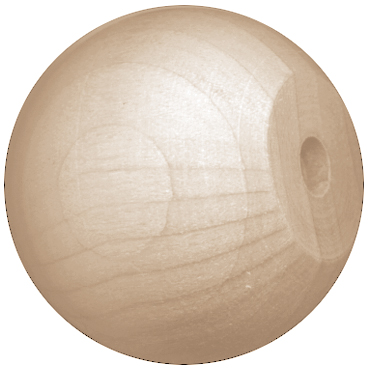 Wood Balls With Hole
