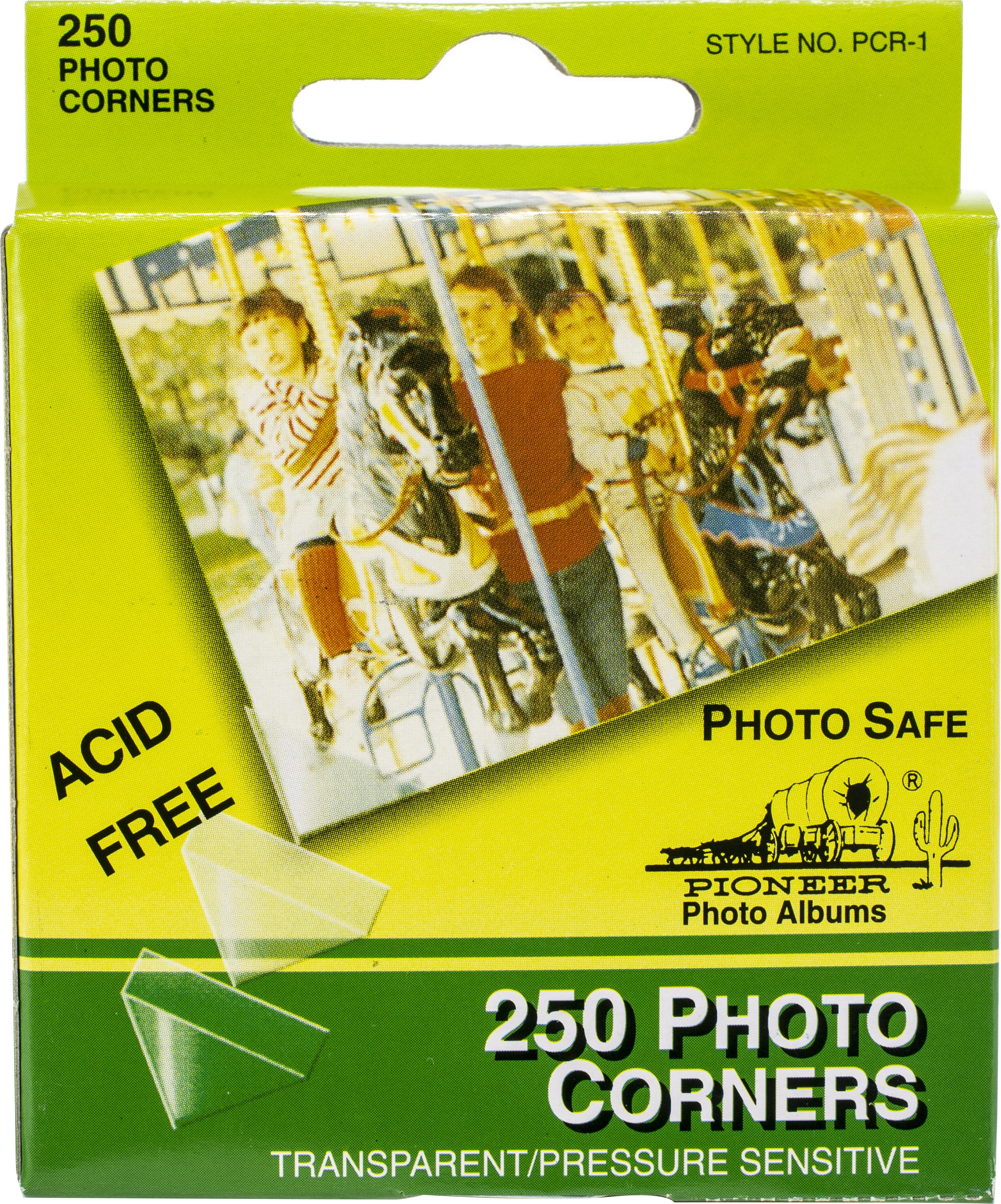 Photo Corners Self-Adhesive .5 250/Pkg-Clear