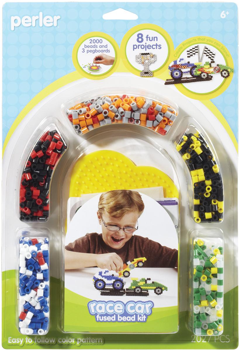 Perler Fused Bead Kit-Race Car