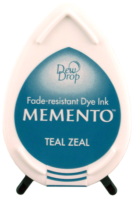 Memento Dew Drops Teal Zeal