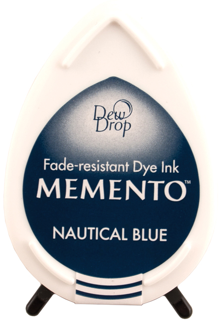 Memento Dew Drops Nautical Blue