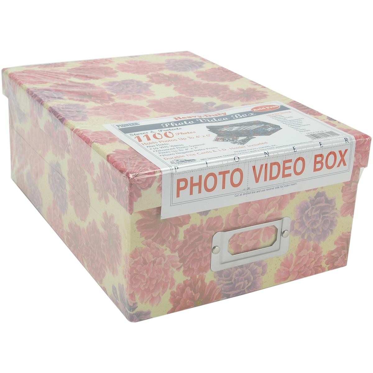PHOTO STORAG BOX AST