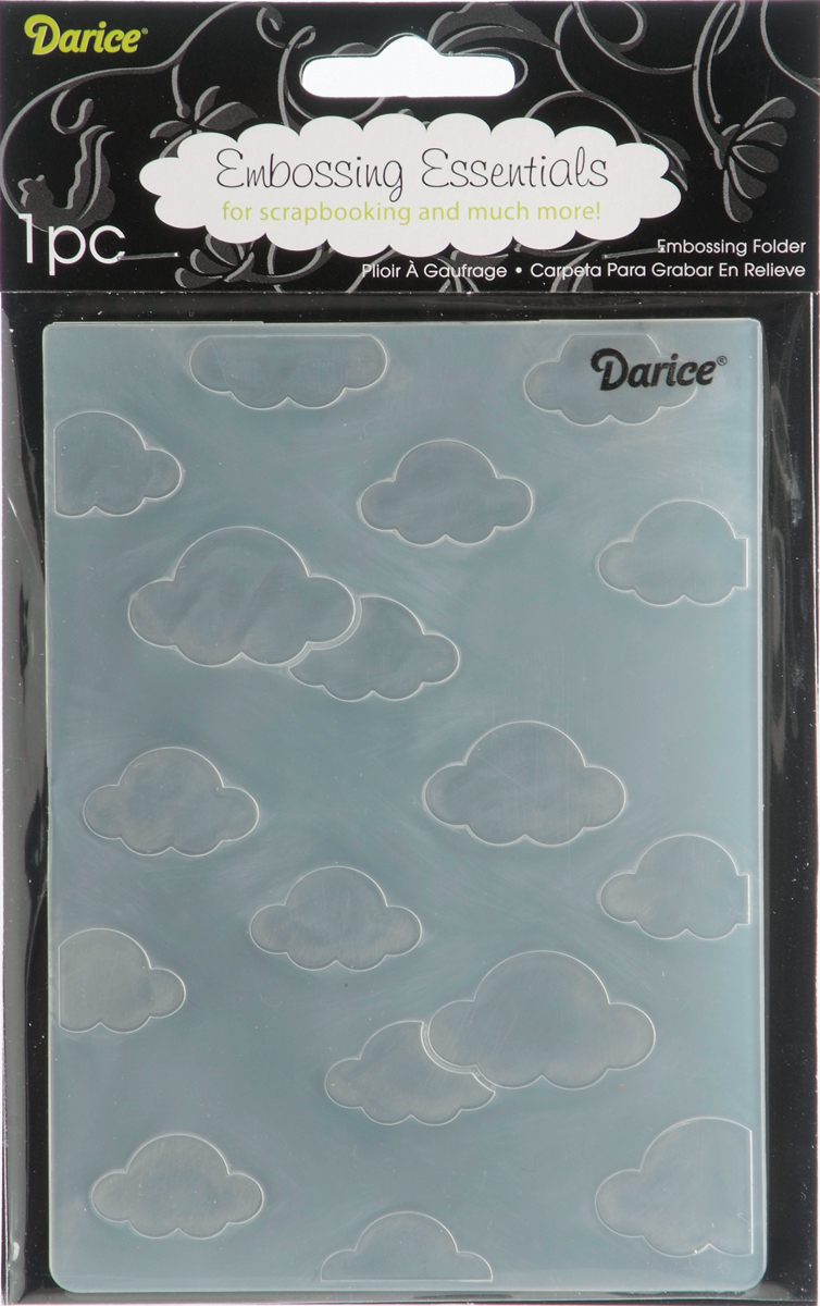 CLOUDS    -EMBOSSING FOLDER
