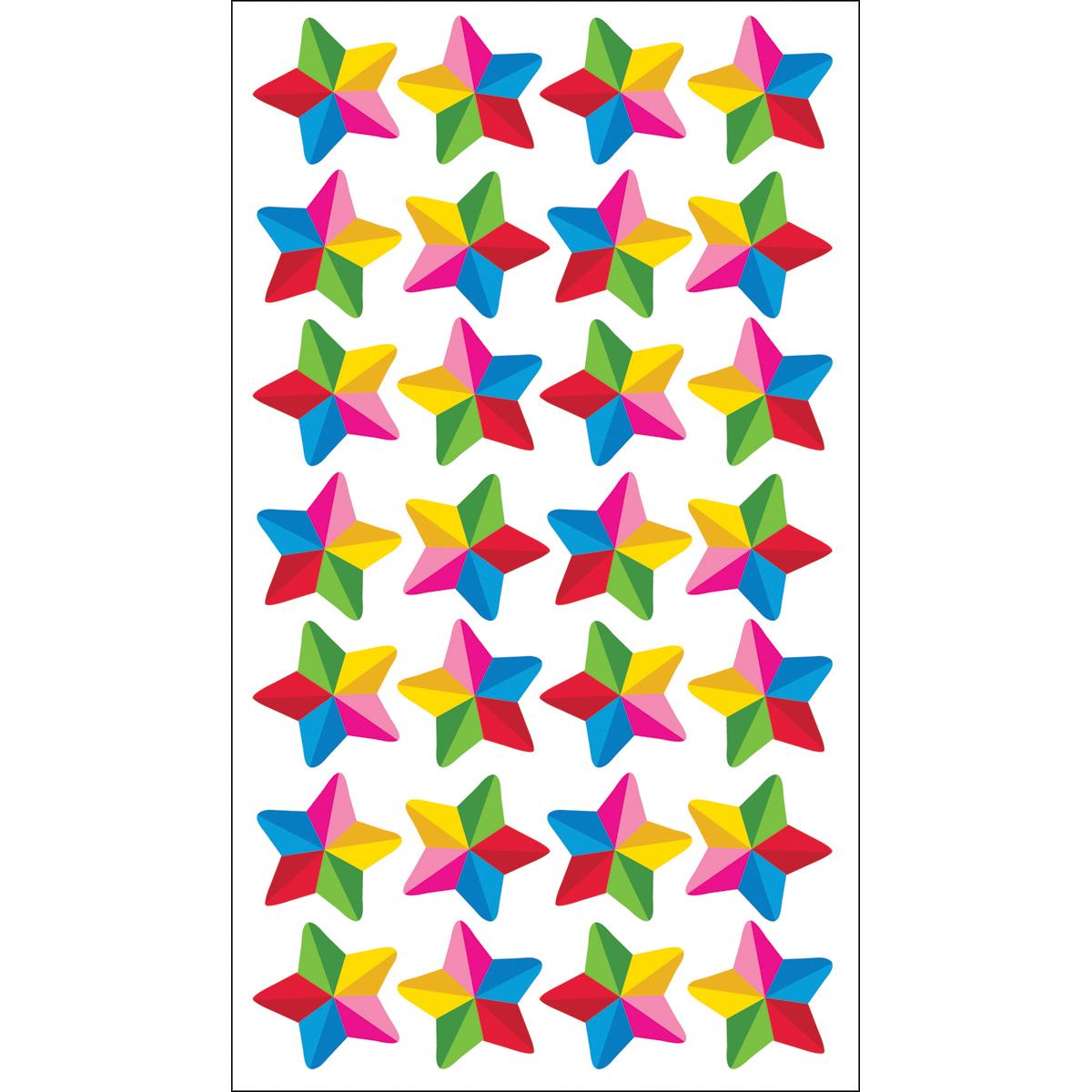 Sticko Colorful Stars