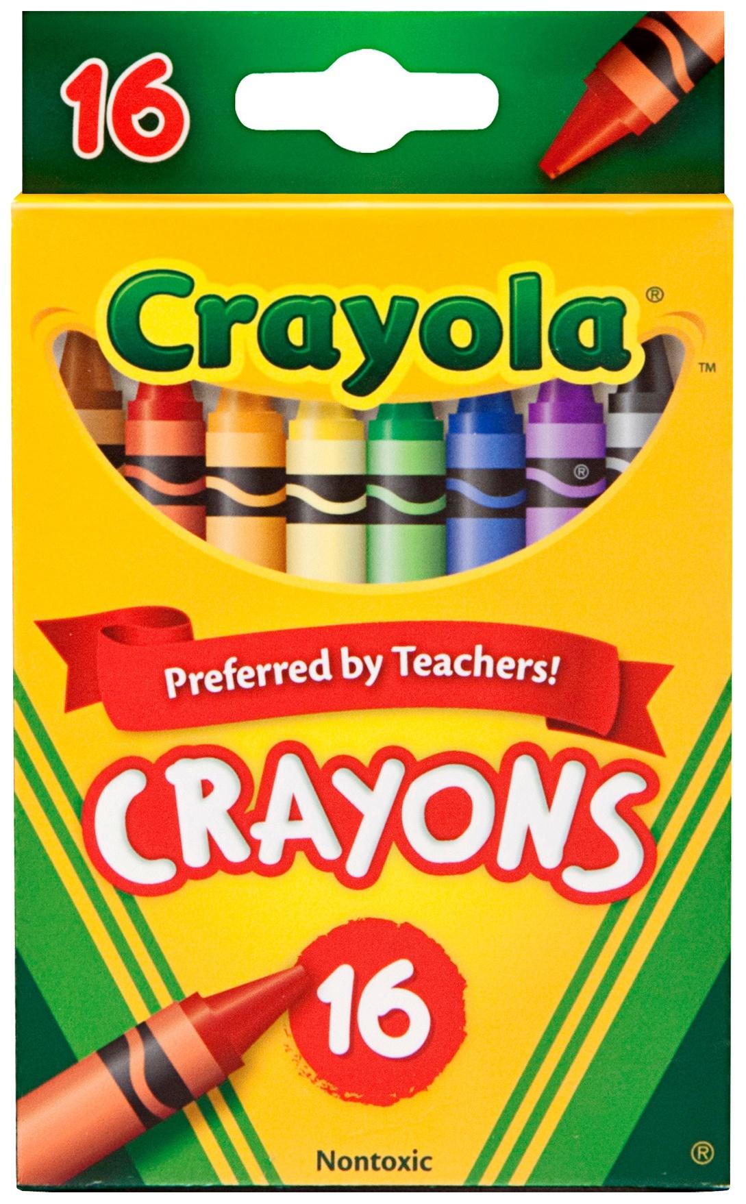 CRAYONS 16/PKG