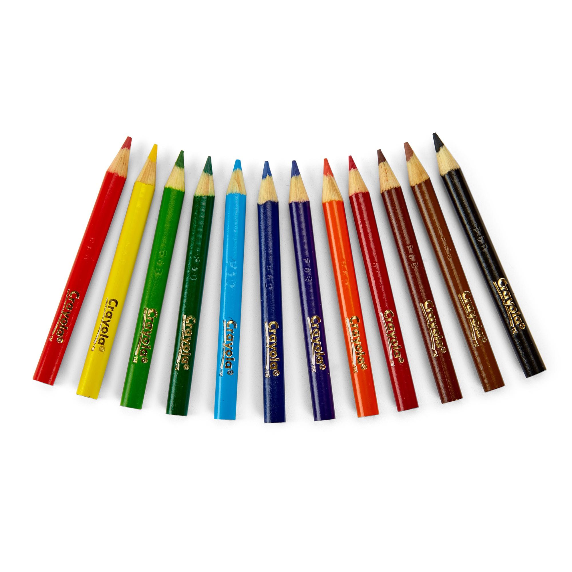 Crayola Colored Pencils-12/Pkg Short