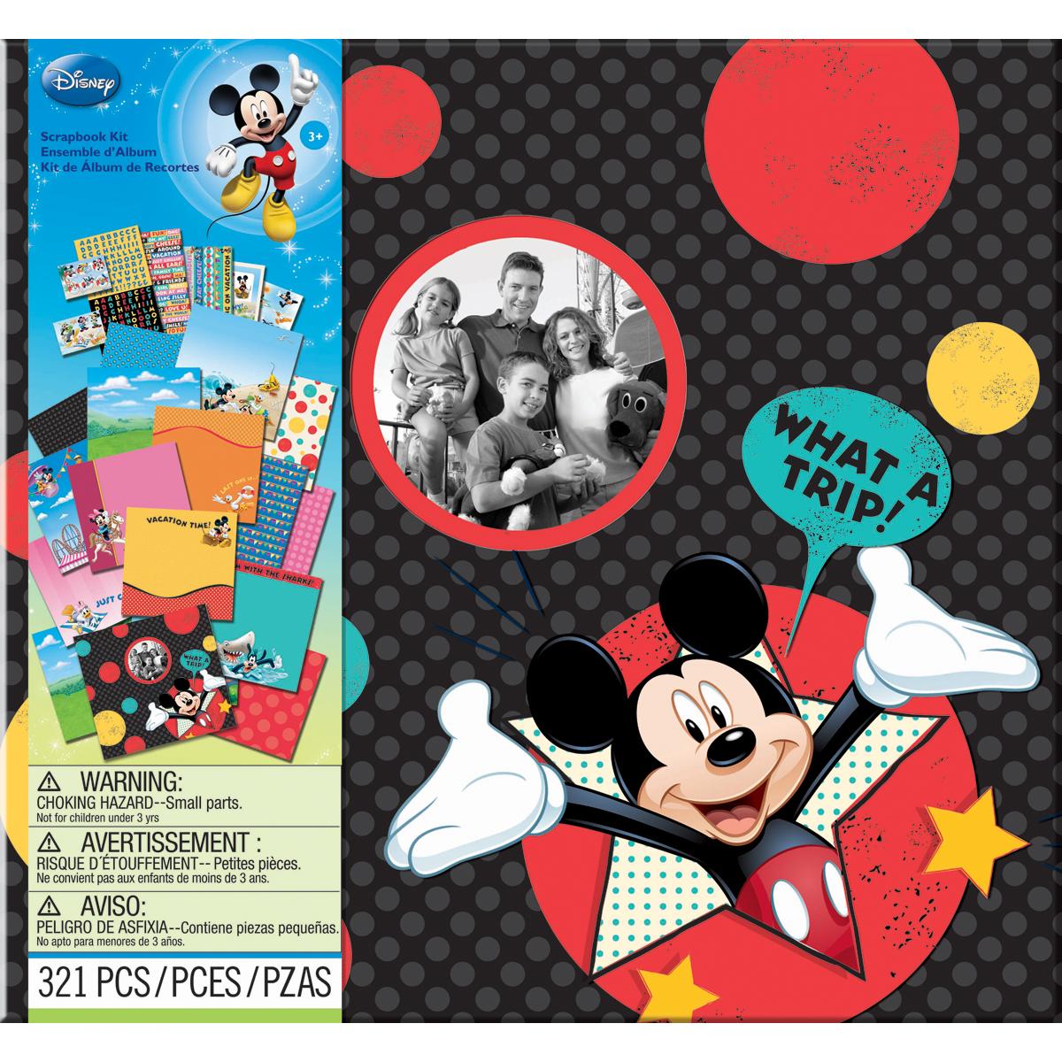 Disney Vacation Scrapbook Kit 12x12