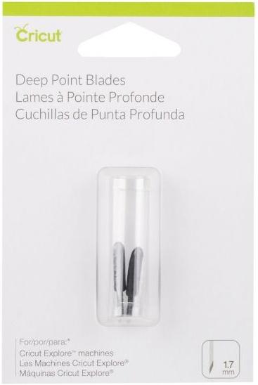 Cricut Deep Cut Replacement Blade 2/Pkg-