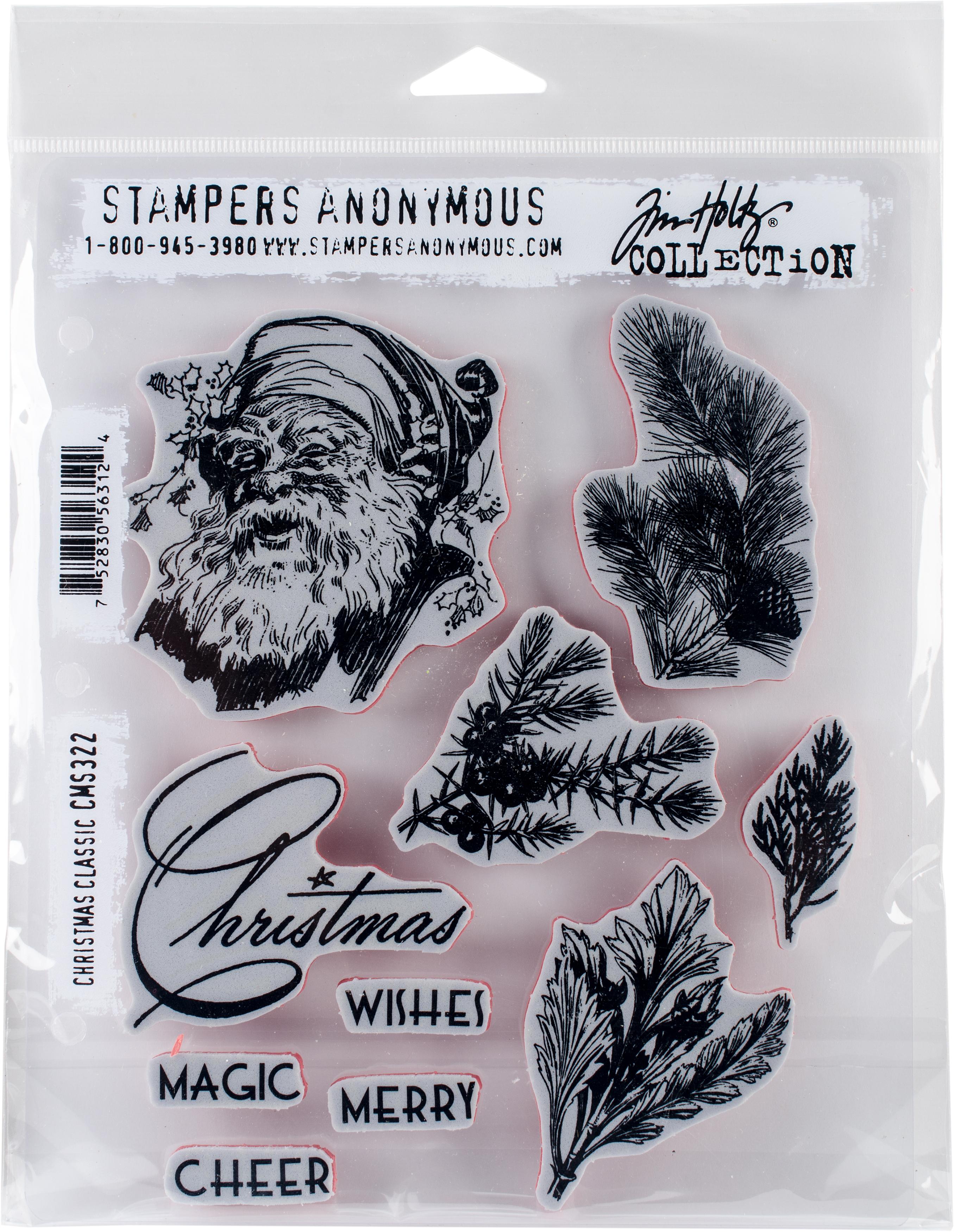 SA - TH Classic Christmas Cling Stamp