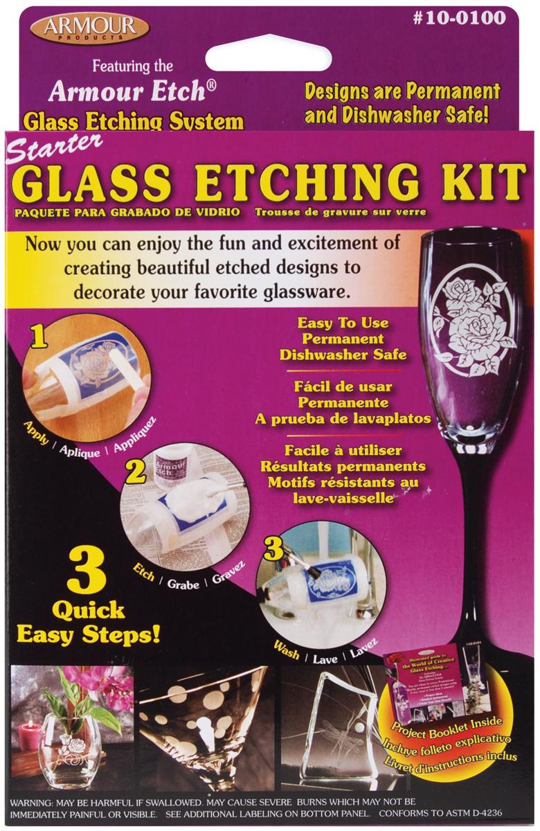 Glass Etching Starter Kit-