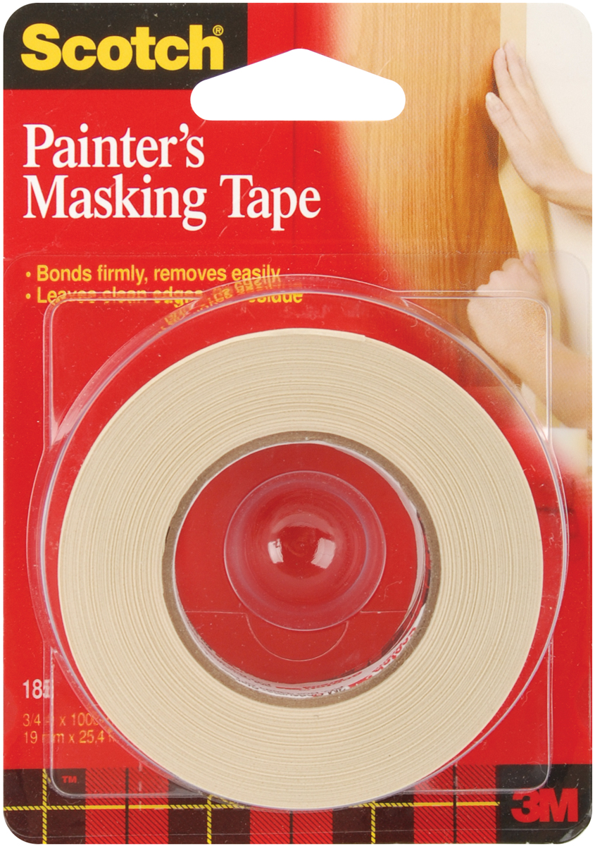 Scotch Painter's Masking Tape-.75X1,000