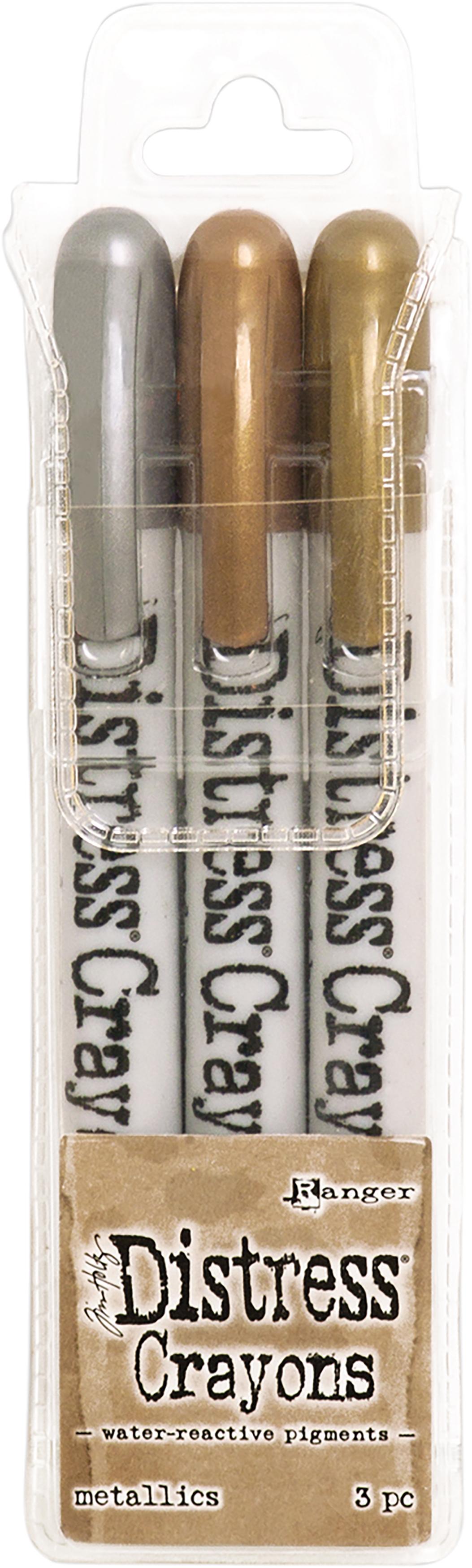 Distress Crayons Metallics
