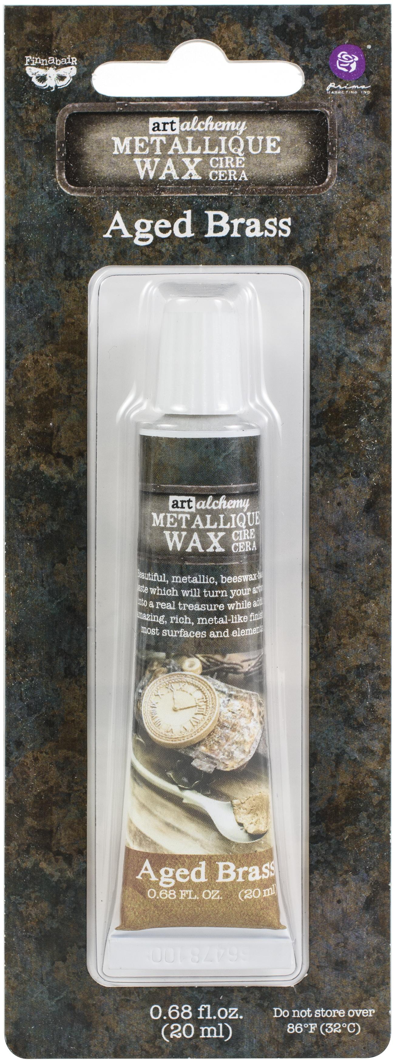 Metallique Wax-Aged Brass