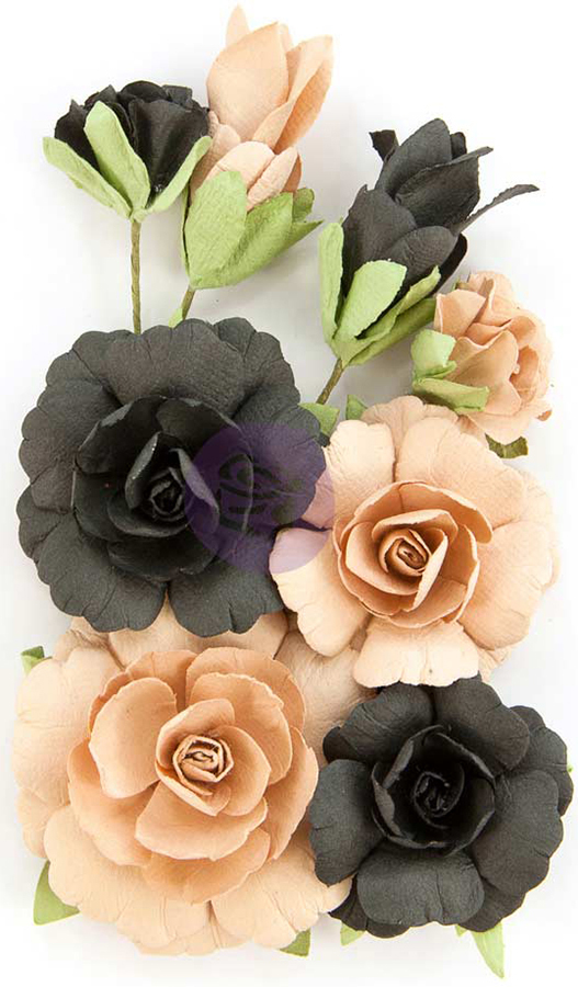 Prima Marketing Zella Teal Flowers-Fearless
