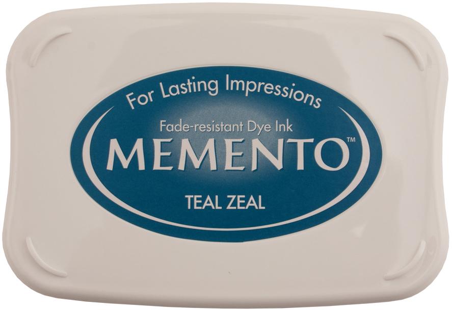 Memento Ink-Teal Zeal