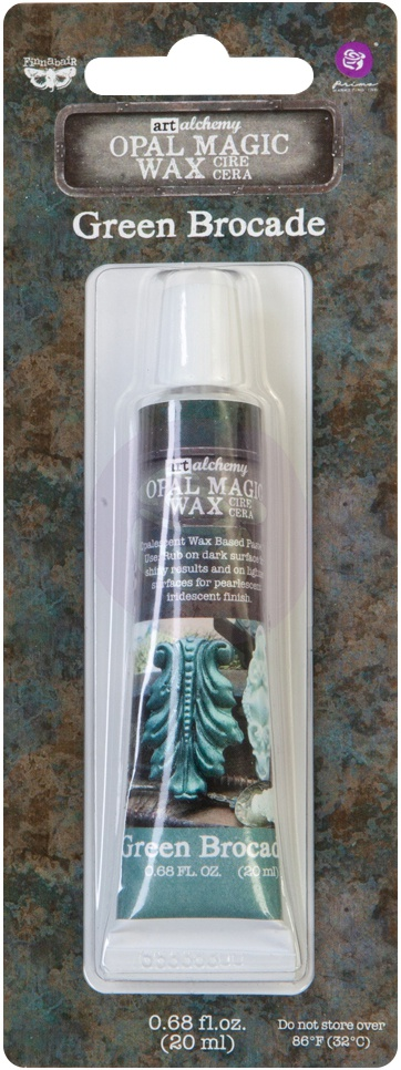 Opal Magic Wax-Green Brocade